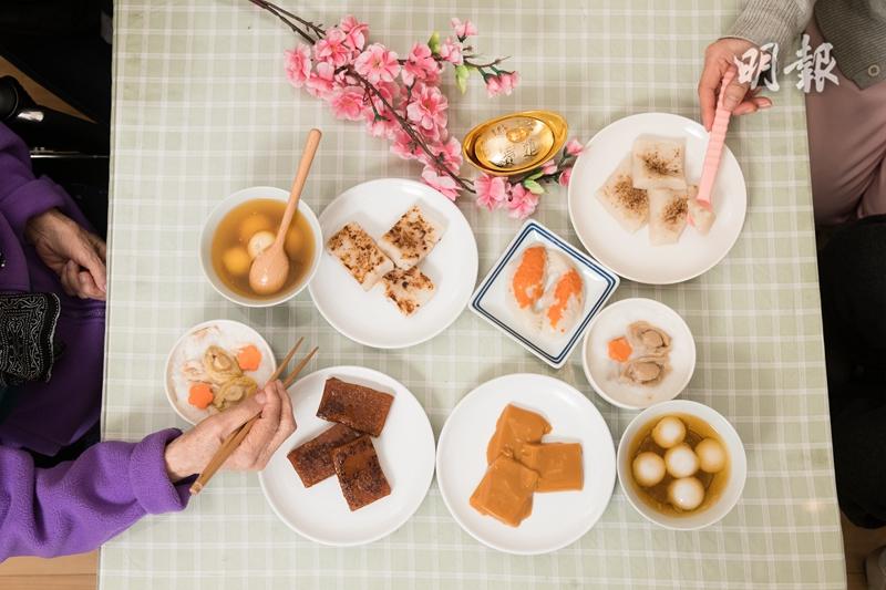 軟餐,年糕,湯圓,蘿蔔糕,粥